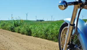 I have seen many windmills thus far on my journey. Wind energy, it is an interesting topic.