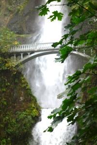 Multnomah Falls bridge, again.