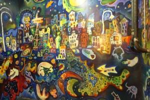 Seattle Fish Market wall art.
