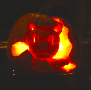 Halloween is coming. Happiness to you on this holiday. I do not celebrate, but I dig carving pumpkins.